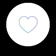 Icône d'un cœur